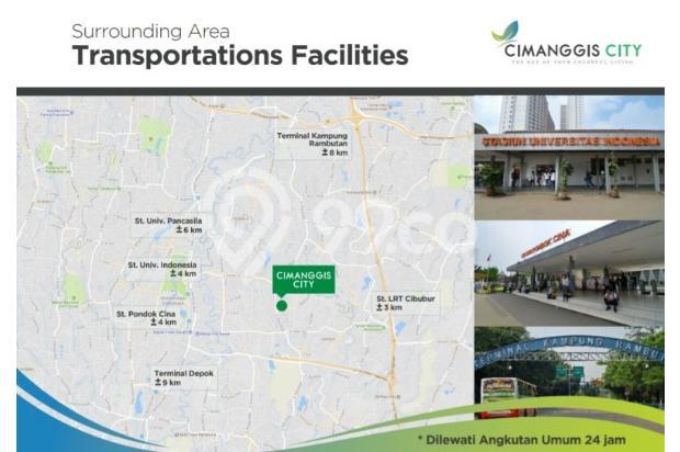 Apartemen Cimanggis City Star 22322232