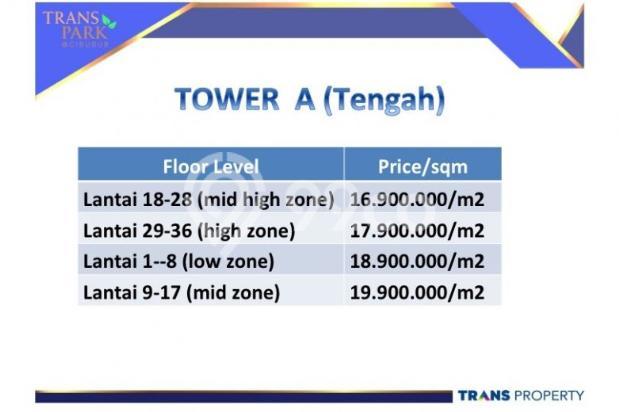 Apartemen mewah di dalam Superblock di Cibubur 9096734