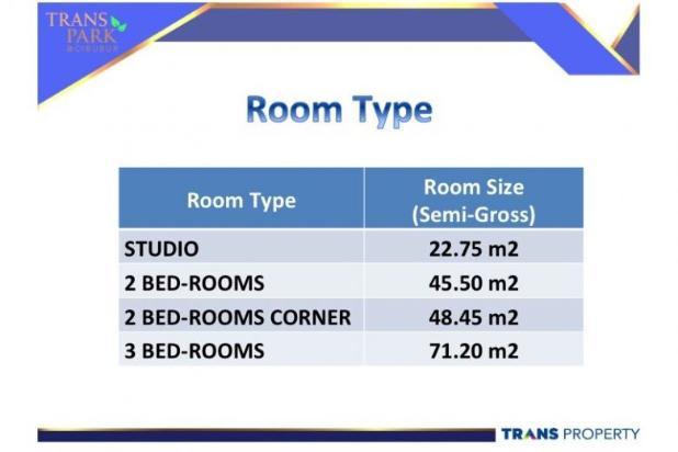 Apartemen mewah di dalam Superblock di Cibubur 9096736