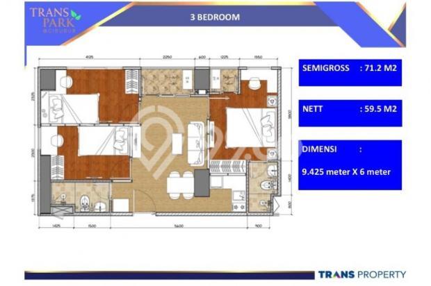 Apartemen mewah di dalam Superblock di Cibubur 9096739