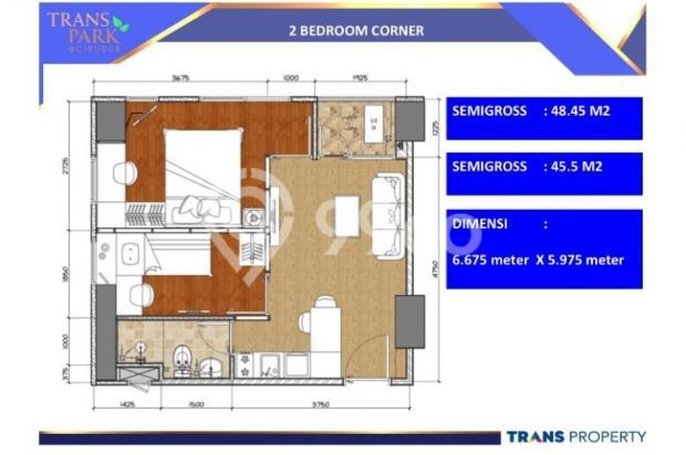 Apartemen mewah di dalam Superblock di Cibubur 9096741