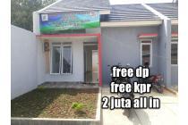 free dp free biaya kpr rumah deket stasiun cilebut