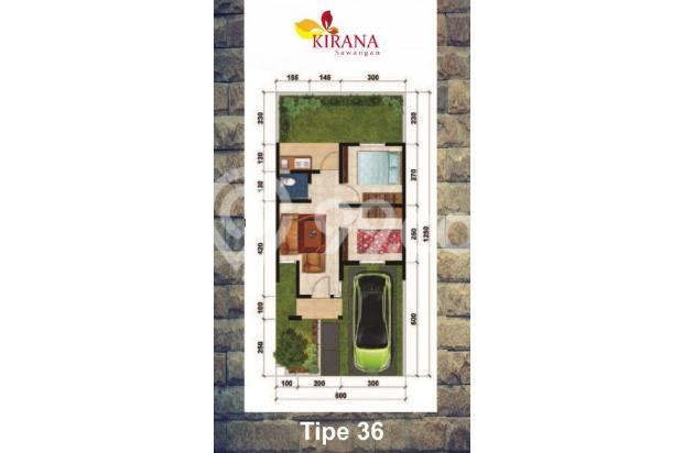 Tanpa DP, Angsuran Masuk Akal di Kirana Sawangan 16224289