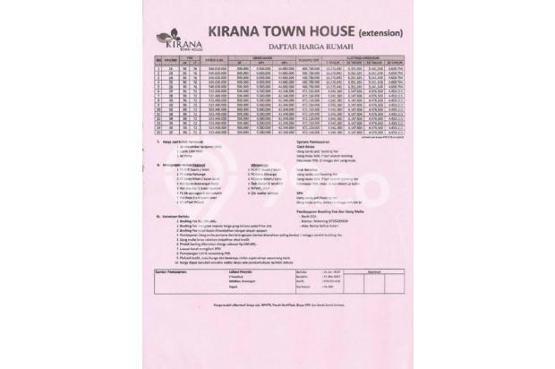 Tanpa DP, Angsuran Masuk Akal di Kirana Sawangan 16224286