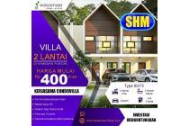 Dijual Villa Murah Puncak Fasilitas Tea Walk