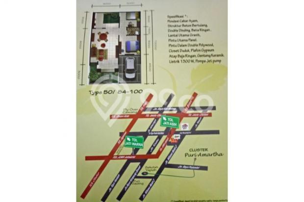 rumah murah Kota Bekasi 400 Jutaan bisa tanpa DP khusus JAMSOSTEK 11066276