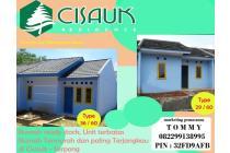 rumah murah di cisauk akses kereta api stasiun cisauk