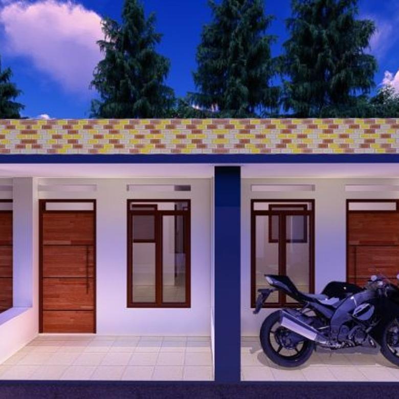 Rumah Murah Syariah Harga 10o jutaan di Cilodong Depok Nempel