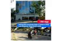 Gedung Jeruju (4 Lantai) lebar Total 21 meter (GEDUNG besar Pusat Kota