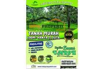 Tanah kavling murah di Bogor , Kavling Kebun Durian Lantaburro Cariu