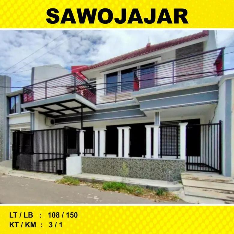 Rumah 2 Lantai Luas 108 di Maninjau Sawojajar 1 kota Malang _ 42A