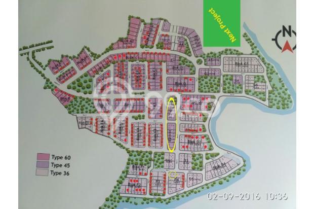 Rumah Cluster Luas & Nyaman Kristal Garden Cibinong dekat Stasiun KRL & Tol 15145767