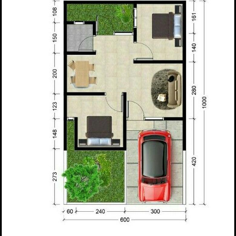 Jual rumah baru posisi dekat Tazkia IIBS Malang Kota