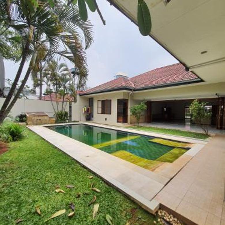 Rumah 1 lantai dalam cluster di Cipete, Jakarta