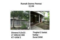 Dijual Rumah darmo permai Surabaya murah SHM nego