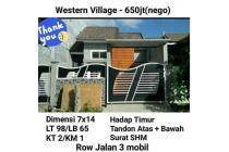 Rumah Western Village Surabaya Minimalis Murah