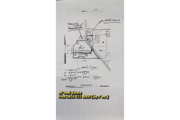 Rp59,2mily Tanah Dijual