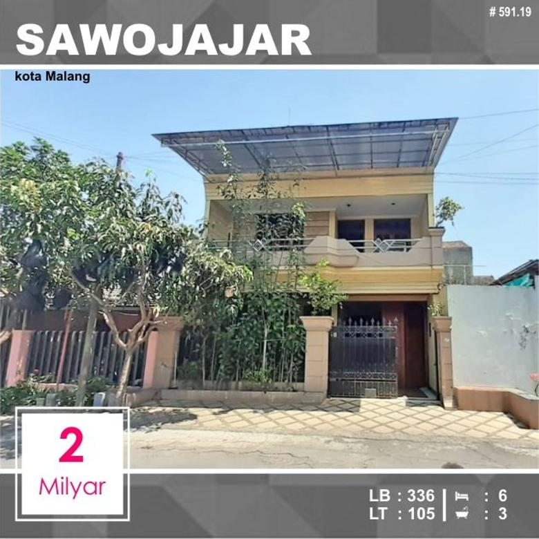 Rumah Luas 105 di Maninjau Sawojajar 1 kota Malang _ 591.19