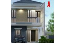 Rumah bergaya minimalis 2 lantai di Manyar Tirtoasri, Surabaya