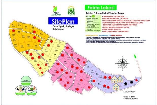 Rp137jt Tanah Dijual