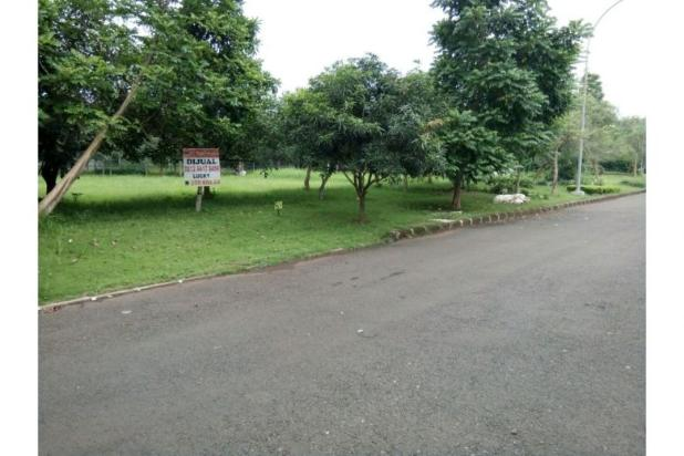 Dijual kavling 637 m2 dapat manfaat 1000 m2 view taman 5455069