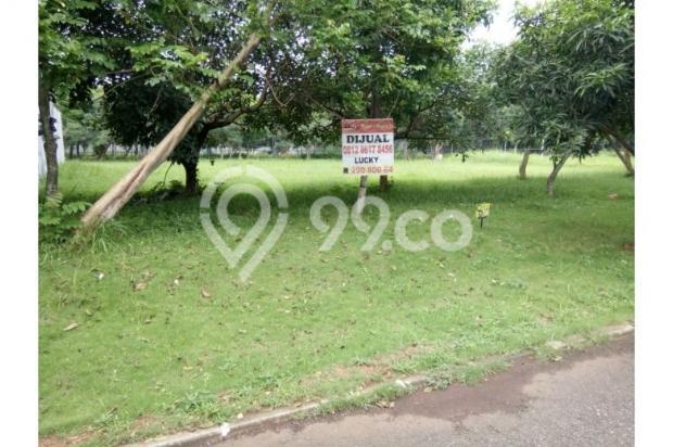 Dijual kavling 637 m2 dapat manfaat 1000 m2 view taman 5455073