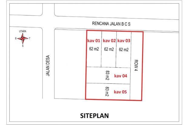 Punya Rumah Dijual di Bojongsari Sawangan Dengan Modal 8 Juta 16049089