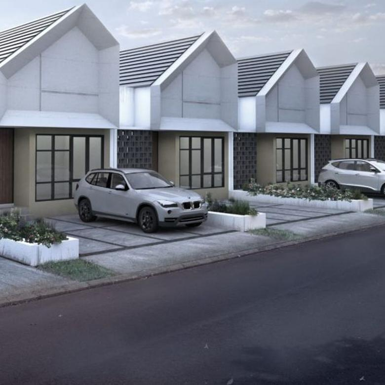Rumah dengan tanah luas, design kekinian, DP 10 Jt All In!!