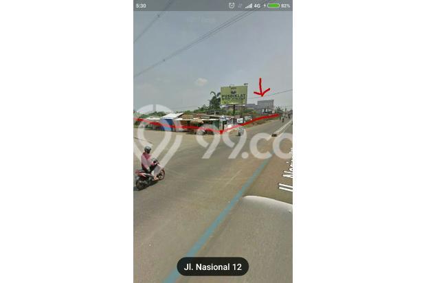 Tanah strategis pinggi jalan raya provinsi parung ciputat 17795155