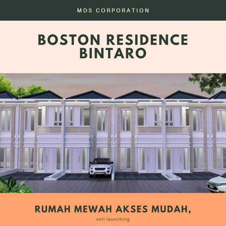 Hunian Termewah 2 Lantai hanya 600Jtan, Boston Residence Bintaro