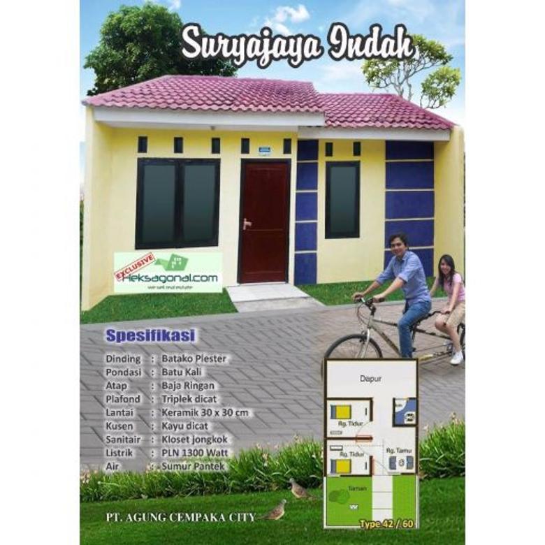 Rumah Dijual Surya Jaya Indah Tanggerang HKS3042
