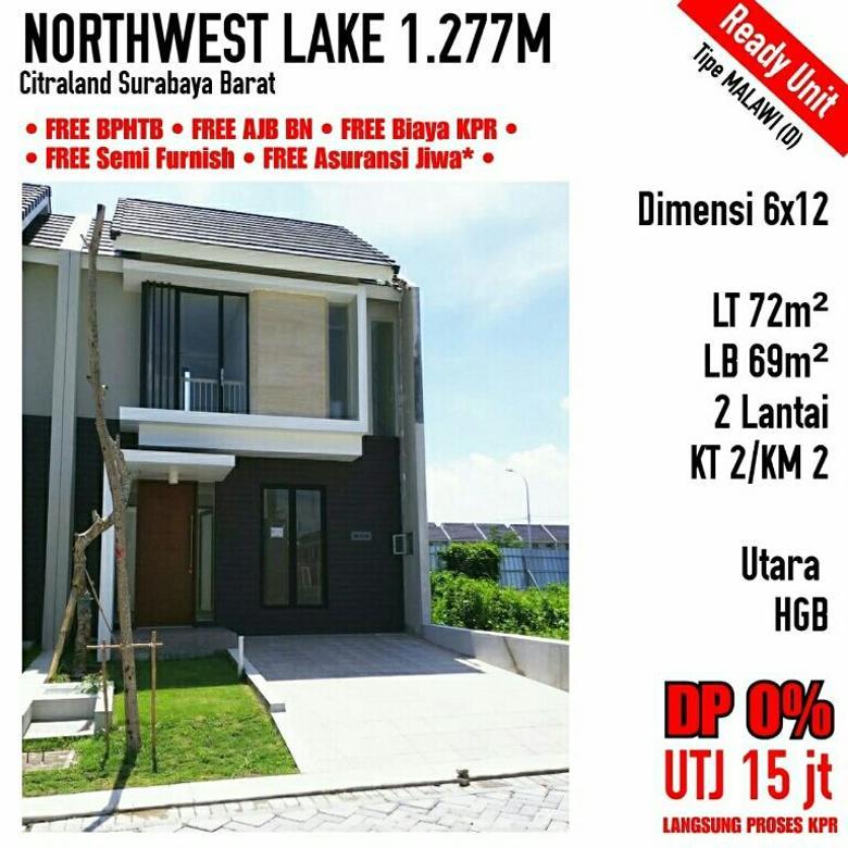 Northwest Lake Citraland Surabaya Barat 2 Lantai Ready Baru
