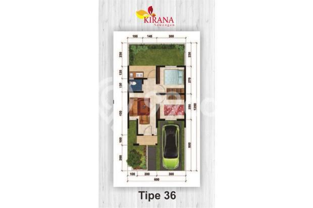 Kirana Sawangan Tanpa DP, Bunga KPR 6 % 17794378
