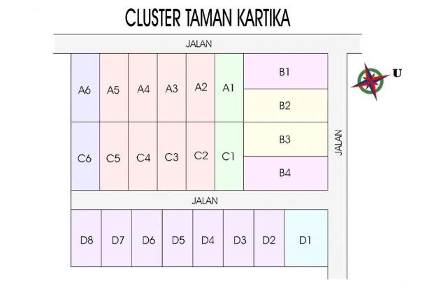 Buana Kartika Wates, Kapling Rapi, Cicilan 12 X TANPA BUNGA 17711569
