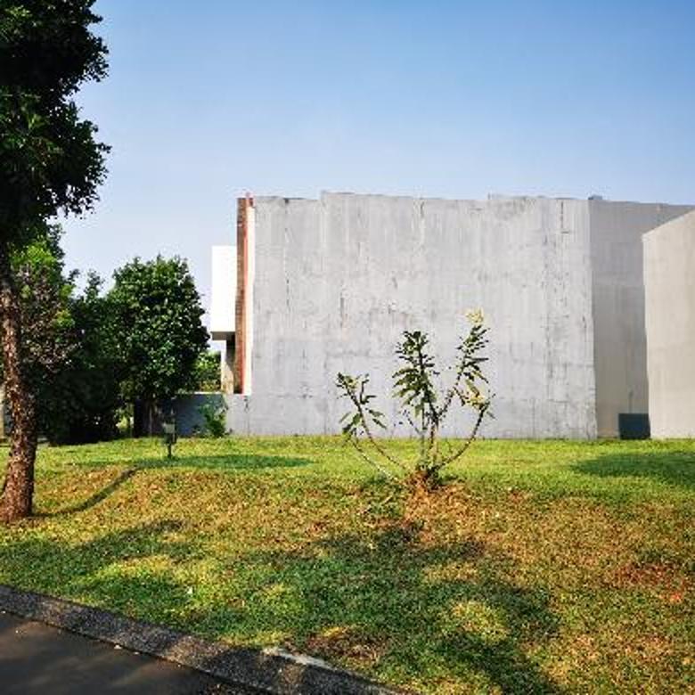 kavling siap Bangun  dekat taman di cluster thames Jakarta garden city