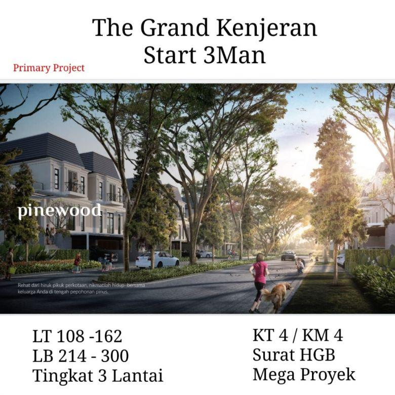 Rumah The Grand Kenjeran Babatan pantai Surabaya start 3M-an