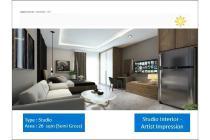 Tipe Studio Apartemen Vasanta Innopark Bekasi