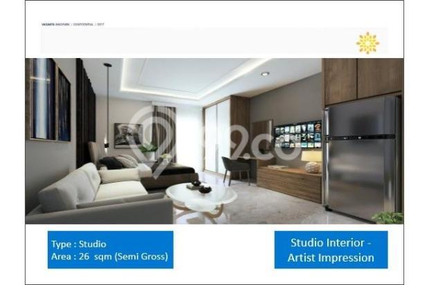 Tipe Studio Apartemen Vasanta Innopark Bekasi 13011958