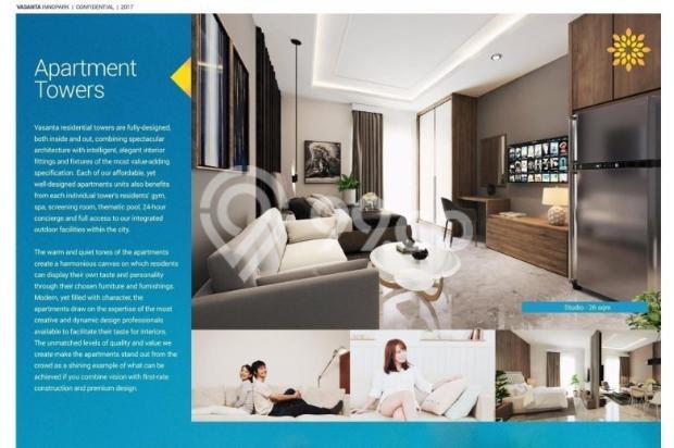 Tipe Studio Apartemen Vasanta Innopark Bekasi 13011975