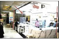 Kios di Mall Ambassador Jakarta Selatan