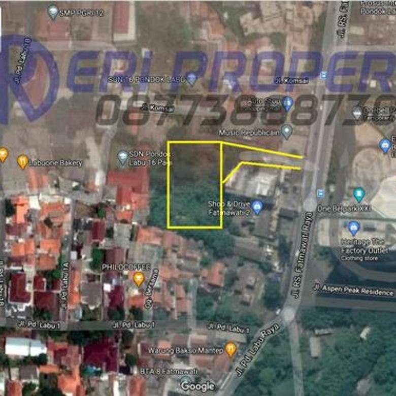 Tanah Komersil K3 Cilandak di Jalan RS Fatmawati (seberang One Bell Park) Jakarta Selatan