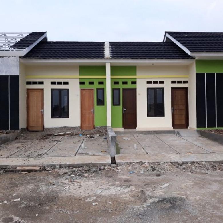 Rumah tanpa DP siap huni dekat ke stasiun bojonggede