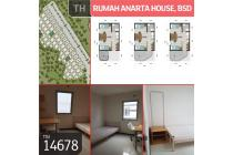 Rumah Anarta House, BSD, Tangerang, 4,5x7,5m, 3 Lt, AJB