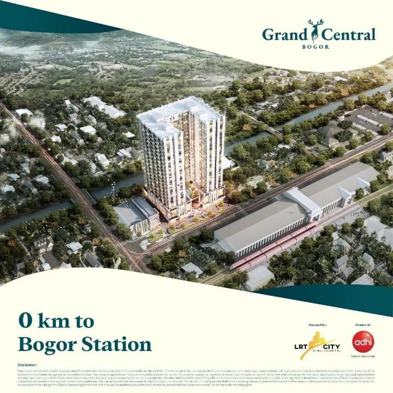 Dijual Apartemen Murah di bogor - Grand Central Bogor