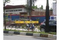 Tanah dijual, Siap bangun, depan jalan raya, KM.7 Palembang