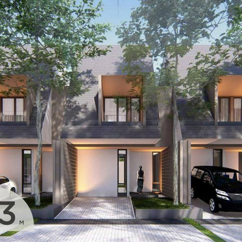 Paradesa Cibubur , design Ayya Architect , brand new townhouse