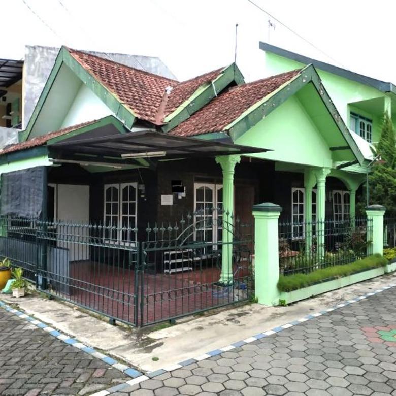 Dijual Rumah Hook Semi Furnished di Sawojajar 1 Malang