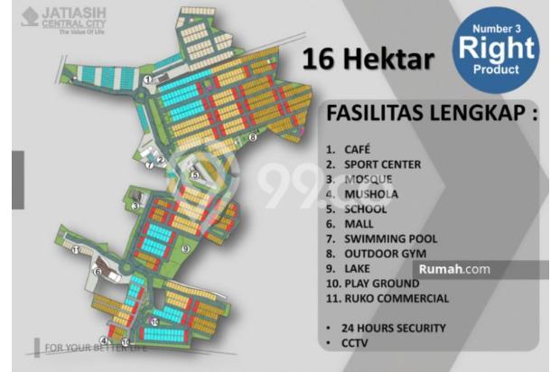 Jatiasih Central City @ Cikunir - Jatiasih, DP cicil 24 bln, terlengkap 21122973