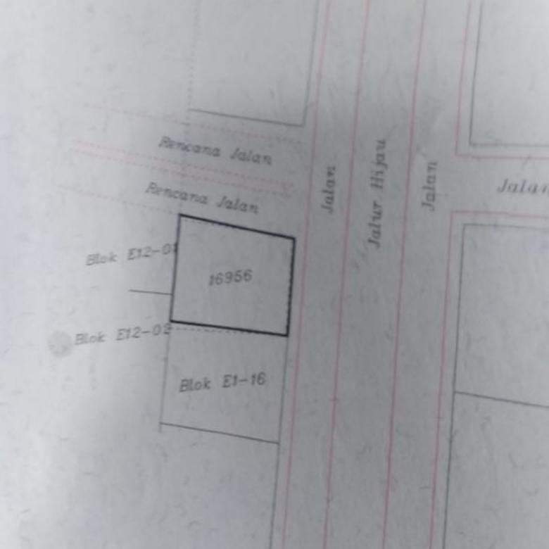 tanah di komplek Rafles Hill Cibubur