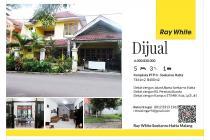 Rumah Soekarno Hatta Malang Dekat Permata Jingga